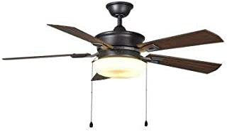 Home Decorators Collection Lake George 54 in. LED Indoor/Outdoor Natural Iron Ceiling Fan