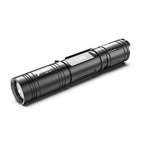 WUBEN L50 LED Taschenlampe 1200 Lumen USB wiederaufladbare taktische Taschenlampe mit 18650 Batterie