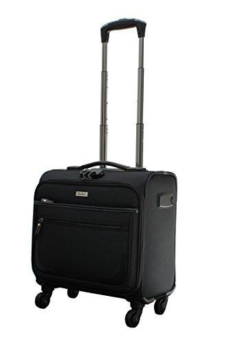 [ビータス] スーツケース ソフト 機内持ち込み可 BSC-20 保証付 26L 45 cm 3kg ブラック