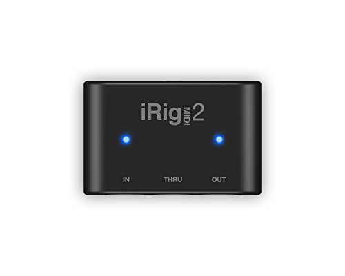 IK Multimedia iRig Midi 2 Universal MIDI Interface for iPhone, iPod Touch,...