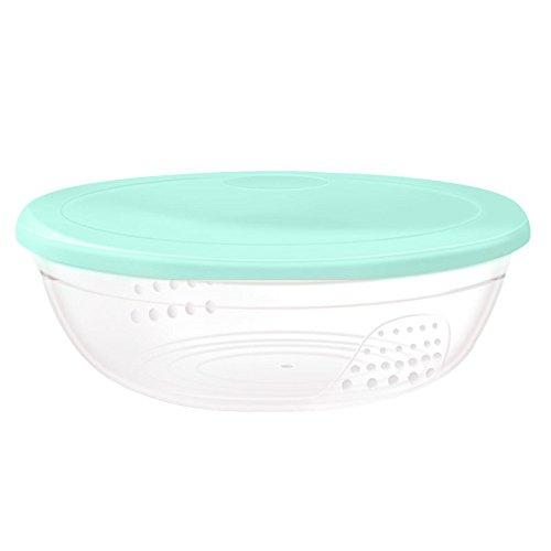 G-JJ Baby tablewareCuchara de tazón de sopa de suplemento de alimentos para bebés tazón de fuente de ensalada de tazón de fuente de alimentación casera, verde