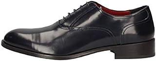 MARINI Zapatos Derby Elegantes Hombre CL01 931 Piel Azul Original PE New