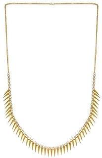 Frolics India Yellow Brass American Diamond Stones Studded Hangings Bullets Kamarband for Women