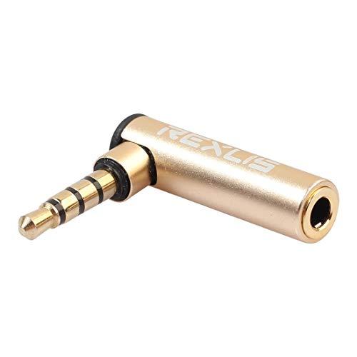 Audio-Glasfaser-Verbindungskabel BK3567 3,5 mm Stecker + 3,5 mm L-förmige 90 Grad Krümmer vergoldeter Stecker Gold-Audio-Interface Verlängerungs-Adapter for 3,5-mm-Schnittstellen, Unterstützung Kopfhö