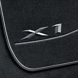 BMW OEM X1 Carpet Floor Mats, Black (Fits xDrive models only)