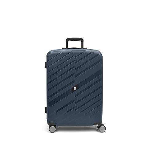 Gabol - Sendai   Maletas de Viaje Medianas Duras de 45 x 67 x 27 cm con Capacidad para 60 L de Color Azul
