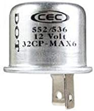 CEC Industries TF552/536BP Thermal Flasher-2 Terminal-Cd/1, 1 Pack