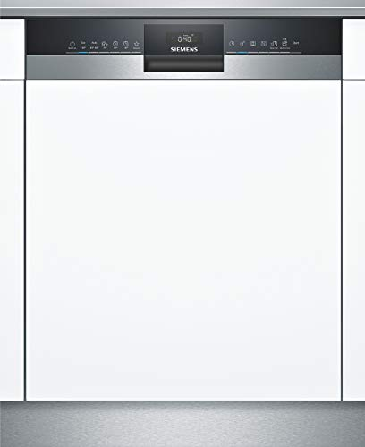 Siemens SN53HS60CE iQ300 Teilintegrierter Geschirrspüler / D / 85 kWh / 14 MGD / Smart Home kompatibel via Home Connect / varioSpeed Plus / varioSchublade