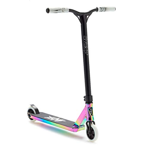 Stunt Scooter Freestyle Horus S1 Oil Slick Neochrom - kickscooter pro