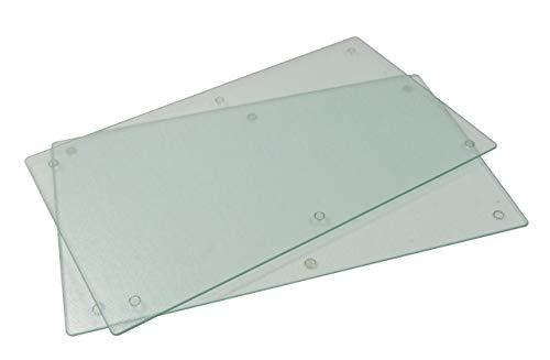 Protège vitrocéramique - Set de 2 plaques - Verre