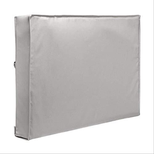 Venuy 32 '36' 40' 46' 50' 55' 60' 65' Tv cubierta protectora impermeable y polvo al aire libre cubierta de la TV terraza jardín al aire libre