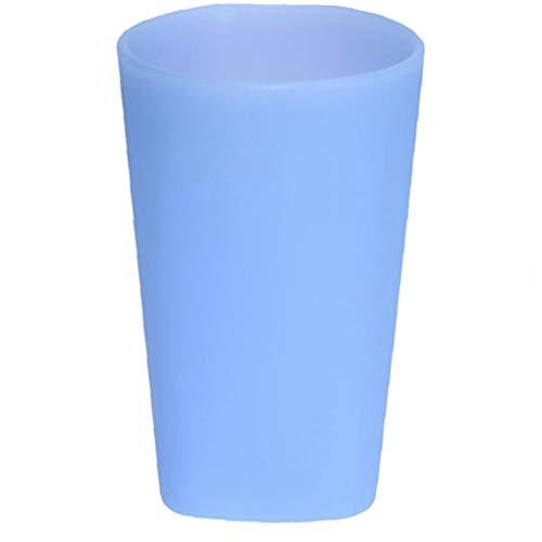 Case Cover Silikon-weingläser Beweglicher Pool Cup Unbreakable Stemless Wasserglas Flexible Bier-Becher Für Reise, Outdoor, Picknick, Pool 400