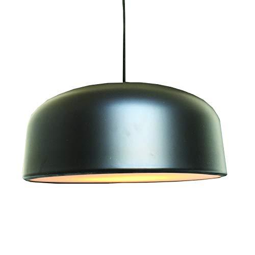Lussiol 250474 Suspensions d'éclairage intérieur, Métal, Noir