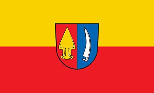 Unbekannt magFlags Tisch-Fahne/Tisch-Flagge: Wyhl am Kaiserstuhl 15x25cm inkl. Tisch-Ständer