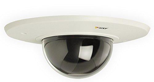 Axis witte montageset voor onderdekens met transparante blanke glazen koepel