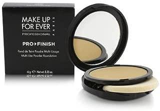 Make Up For Ever Pro Finish Multi Use Powder Foundation - # 123 Golden Beige 10g/0.35oz