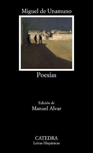 Poesías (Letras Hispánicas)