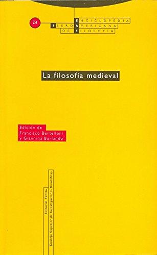 La Filosofía Medieval - Volumen 24: Vol. 24 (Enciclopedia Iberoamericana de Filosofía)
