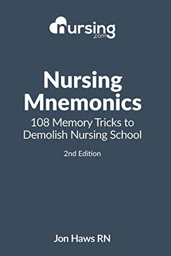 Nursing Mneumonics 108 Memory Tricks to Demolish Nursing School