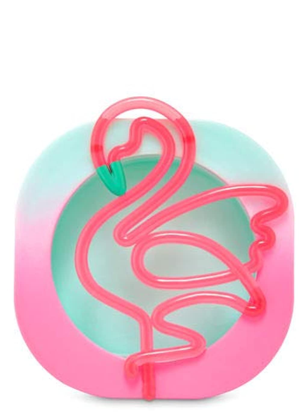 世界おんどり頼る【Bath&Body Works/バス&ボディワークス】 クリップ式芳香剤 セントポータブル ホルダー (本体ケースのみ) ネオンフラミンゴ Scentportable Holder Neon Flamingo [並行輸入品]