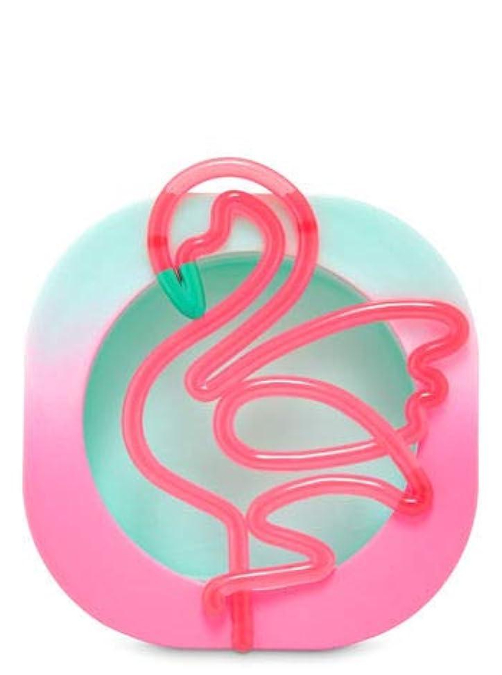 オペレーター持っているポンプ【Bath&Body Works/バス&ボディワークス】 クリップ式芳香剤 セントポータブル ホルダー (本体ケースのみ) ネオンフラミンゴ Scentportable Holder Neon Flamingo [並行輸入品]