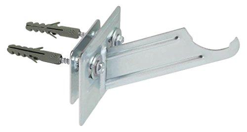 INDEX Fixing Systems RARO100 [RA-RO] radiadores de aluminio. Soporte de rosca, 100 mm, Set de 2 Piezas