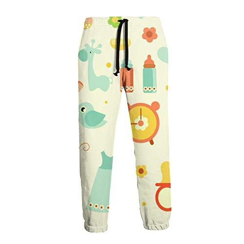 Amanda Horatio Baby - Pantalones deportivos deportivos para hombre grandes y altos