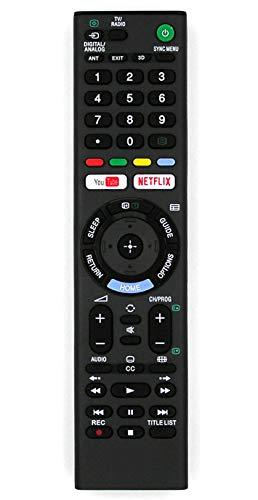 Ersatz Fernbedienung for Sony TV KD-55XF7004 KD-55XF7005 KD-55XF7077