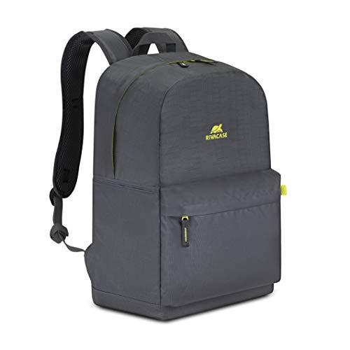 RivaCase Ultraleichter - Zaino 24 L con notebook fino a 15,6' 5562 grigio