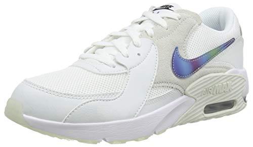 Nike Air Max EXCEE (GS), Scarpe da Corsa, Summit White/White/Platinum Tint/Black, 38.5 EU