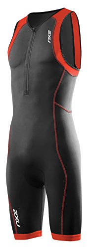 2XU Herren G:2 Active Trisuit Triathlon Einteiler, blk/dtr, S