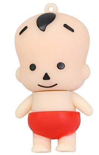Ulticool Baby Rode Luier Geboorte Kraamcadeau 16 GB USB-stick - Baby Red Diaper New Born USB Flash Drive - Origineel Cadeau voor Man en Vrouw - Dataopslag - Rood