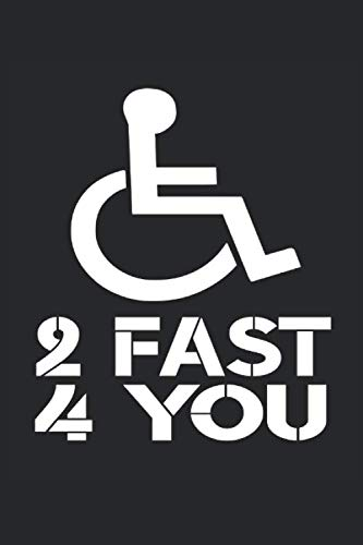 Rollstuhl: Notizbuch A5 Kariert - zum planen, organisieren und notieren