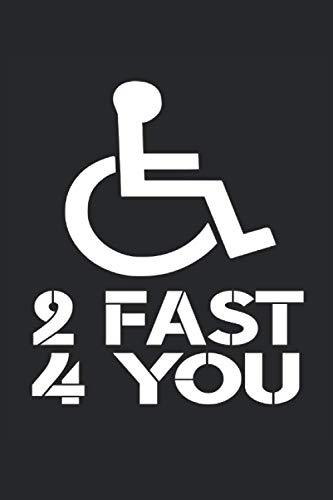 Rollstuhl: Notizbuch A5 Liniert - zum planen, organisieren und notieren