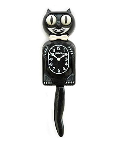Classic Black Kitty-Cat - Made by Kit-Cat Klock® by Kit-Cat