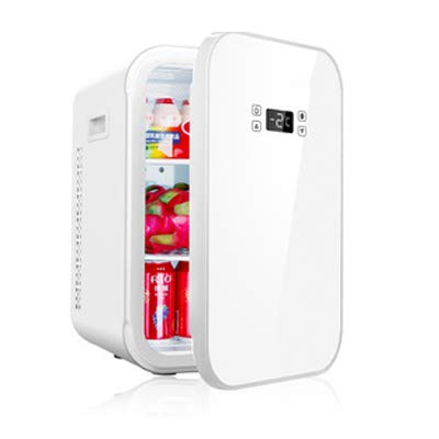 YRRC 22L Coche pequeño refrigerador de la casa pequeña de un Solo Uso de Coche de Doble Uso a los Estudiantes Micro Alquiler compartidas Nevera portátil para Acampar congelador,B