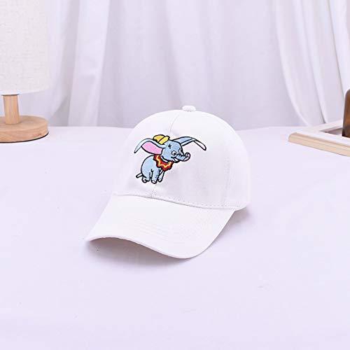 wopiaol Koreanische Version der neuen Süßigkeiten Farbe Kinder Alphabet Stickerei Baseball Hut Frühling, Sommer und Herbst Baby niedlichen warmen Farbe Kappe