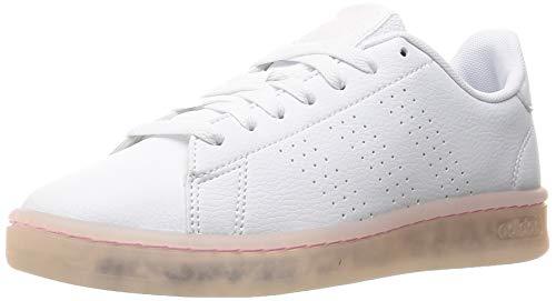 adidas Advantage, Zapatillas de Tenis Mujer, FTWBLA/FTWBLA/ROSCLA, 36 EU