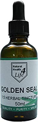 NH4L Goldenseal/Golden Seal Herbal Tincture 50ml