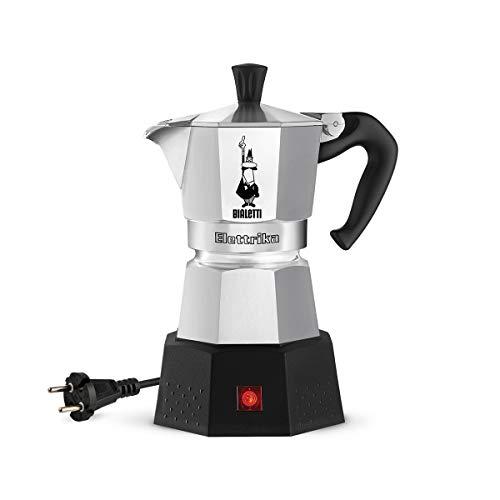 Bialetti Elektrika 110 Volt / 230 Volt Elektrischer Espressokocher / Reiseausführung