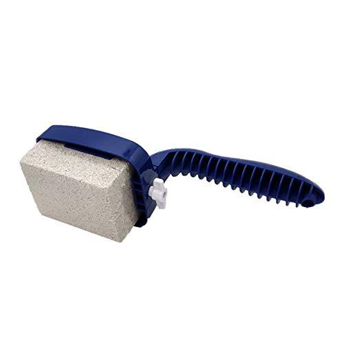 HechoVinen Piedra pómez de limpieza de la parrilla, piedras pómez de la plancha con asa, raspadores de parrilla de mano utensilios de limpieza para cocinas de piscina y parrillas de barbacoa