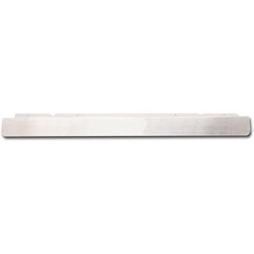 Wetterschenkel 1000 mm, Materialbreite 50 mm, Stärke 1,2 mm, Aluminium natur ; 1 Stück