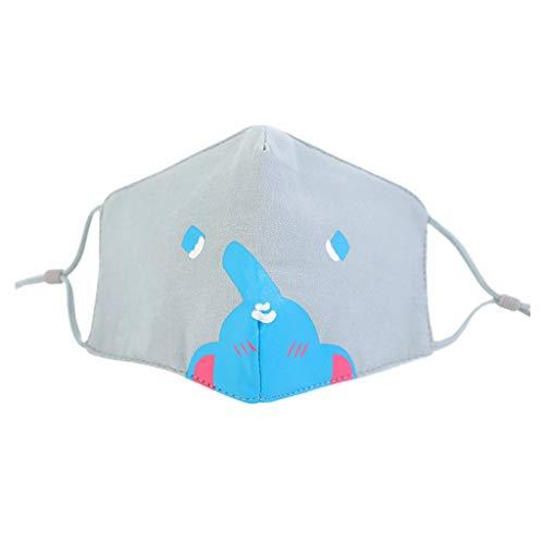 KPILP Multifunktionstuch Kinder Bandana Kopftuch Baumwolle Stoff Behelfstuch Waschbare Motorrad Halstuch Kopftuch