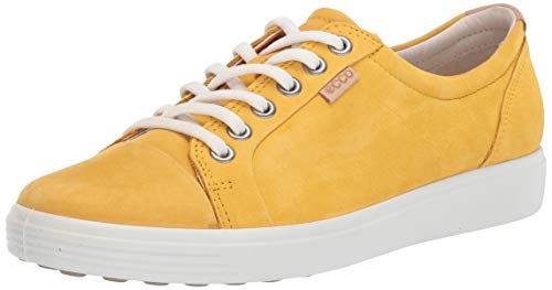 Ecco Damen SOFT7W Sneaker, Gelb (Merigold 2366), 37 EU