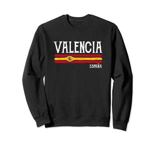 Vintage Valencia España Recuerdo España Regalo Sudadera