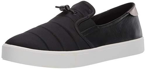 Cole Haan Women's Grandpro Spectator 2.0 Puffer Slip On Shoe Sneaker, Black/Gunmetal Specchio, 9.5