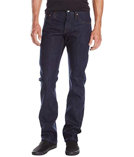 Unbranded* The Brand Herren UB321 Straight Indigo Selvedge Jeans - Blau - 46