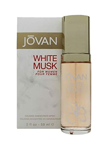 Jovan White Musk Eau De Colonia Spray para Mujer 59 ml
