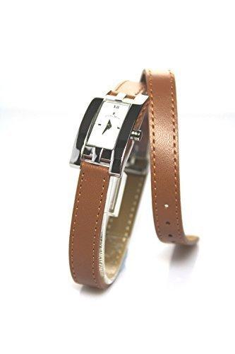 Jacques Du Manoir Damenarmbanduhr, hergestellt in der Schweiz, Hellbraun