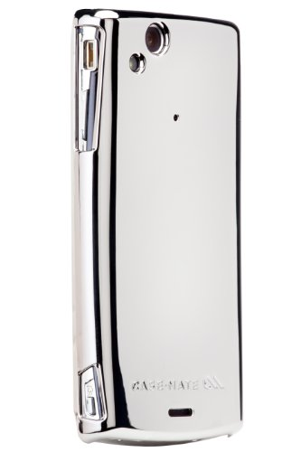 Barely There Cover per Sony Xperia Arc - Metallic Silver